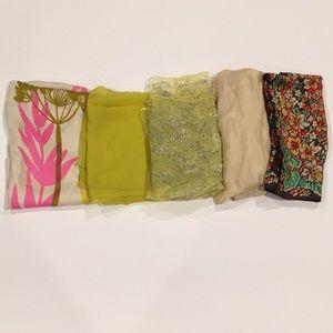 Accessories - Vintage Sheer Scarves/Wraps 🧣